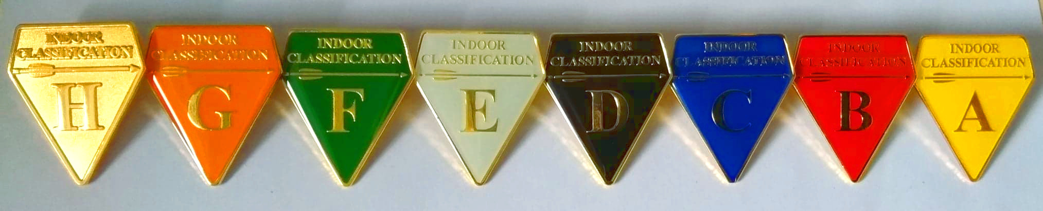Indoor Classification Badges